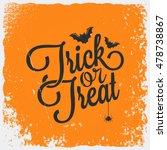 Trick Or Treat Halloween...