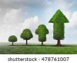 concept of growing success as a ... | Shutterstock . vector #478761007
