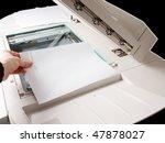 a person handling a multi... | Shutterstock . vector #47878027