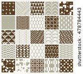 vector ornamental seamless... | Shutterstock .eps vector #478784443