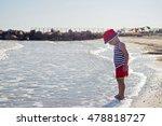 Little boy playing on the beach. Little boy playing on the beach. Little boy playing on the beach. Little boy playing on the beach