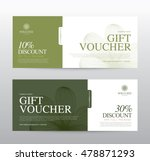 gift voucher template for spa ... | Shutterstock .eps vector #478871293