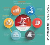 industry info graphic design... | Shutterstock .eps vector #478876417