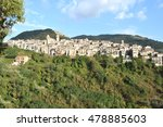 a view of piglio  the wine... | Shutterstock . vector #478885603