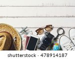 outfits and accessories of... | Shutterstock . vector #478914187
