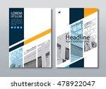 annual report brochure flyer...   Shutterstock .eps vector #478922047