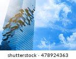 mahanakhon building thailand... | Shutterstock . vector #478924363