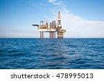 oil rig | Shutterstock . vector #478995013