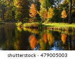 Colorful Autumn Reflected In...