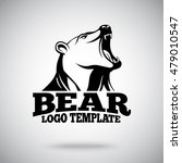 vector logo template with... | Shutterstock .eps vector #479010547