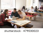 group of university students... | Shutterstock . vector #479030023