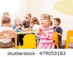 interesting lesson modeling | Shutterstock . vector #479053183