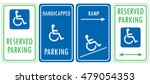 Handicapped Reserved Parking...