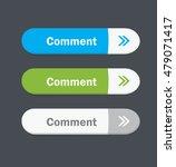 set of vector web interface... | Shutterstock .eps vector #479071417