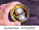 top of view of man holding... | Shutterstock . vector #479110993