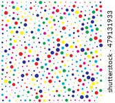 abstract color dot background | Shutterstock .eps vector #479131933