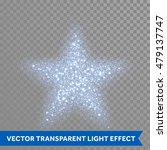 blue glitter particles in star... | Shutterstock .eps vector #479137747
