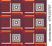 seamless pattern with ethnic...   Shutterstock .eps vector #479153707