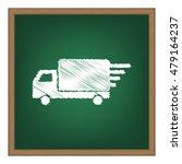 delivery sign illustration....
