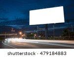 blank billboard for... | Shutterstock . vector #479184883