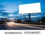 blank billboard for... | Shutterstock . vector #479184907