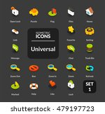 Color Icons Set In Flat...