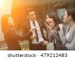 business bully concept with man ... | Shutterstock . vector #479212483