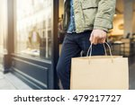 man shopping in clothing store... | Shutterstock . vector #479217727