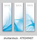 abstract header vertical blue... | Shutterstock .eps vector #479249407