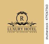 luxury logo template in vector... | Shutterstock .eps vector #479267563