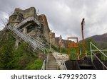 poenari fortress is vlad tepes...   Shutterstock . vector #479292073