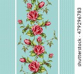seamless floral background.... | Shutterstock .eps vector #479296783