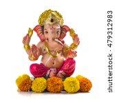 hindu god ganesha. ganesha idol ... | Shutterstock . vector #479312983