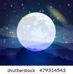 starry sky. eps 10. | Shutterstock .eps vector #479314543