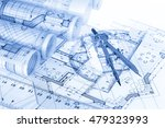 rolls of architecture... | Shutterstock . vector #479323993