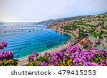 Small photo of Cote d'Azur in a place Villefranche-sur-Mer, France