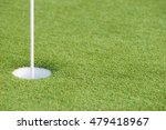 close up detail of a golf hole... | Shutterstock . vector #479418967