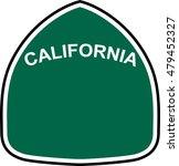 California State Route Marker...