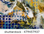 painted abstract background | Shutterstock . vector #479457937