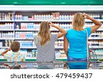 mother and children are... | Shutterstock . vector #479459437