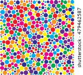 color dot pattern | Shutterstock .eps vector #479462587