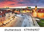 warsaw  royal castle and old... | Shutterstock . vector #479496907
