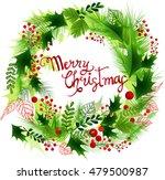 christmas background. vector... | Shutterstock .eps vector #479500987