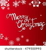 christmas background. vector... | Shutterstock .eps vector #479500993
