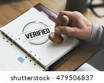 Small photo of Verified Certified Affirm Authorized Approve Concept