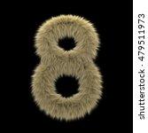 3d Decorative Wild Animal Fur...
