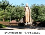 The Maligawila Buddha statue is a largest free standing figure of the Buddha in Sri Lanka, carved out of a large limestone rock during the 7th century by a prince named Aggabodhi.