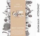coffee vector set.... | Shutterstock .eps vector #479543467