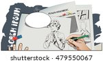 stock illustration. people in... | Shutterstock .eps vector #479550067