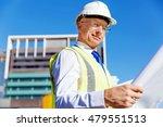 engineer builder at... | Shutterstock . vector #479551513